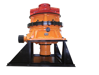 Single cylinder hydraulic cone crusher